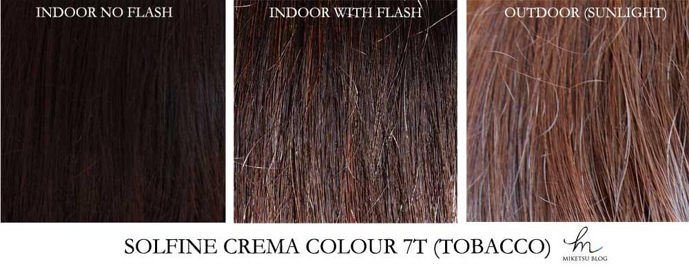 Solfine Professional Hair Dye Miketsu Muse