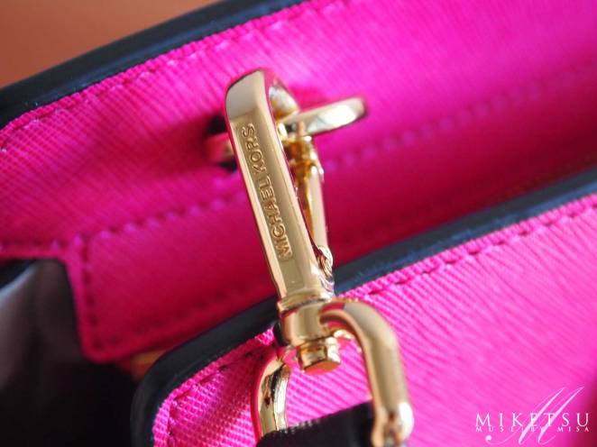 """This is so the Prada lobster clasp, downsized with a different """"link"""" shape buckle."""